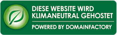 Diese Website wird klimaneutral gehostet.